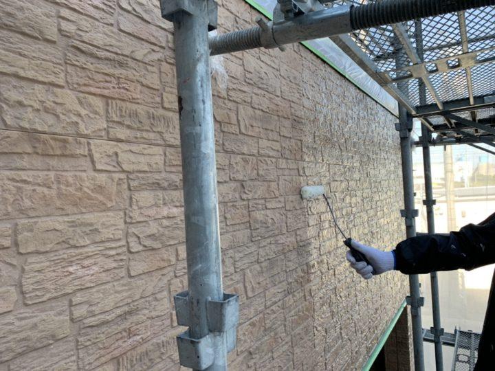 外壁塗装 1回目