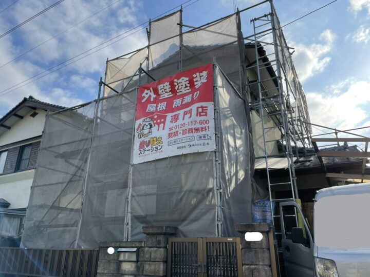 北九州市小倉南区 M様邸 外壁塗装工事