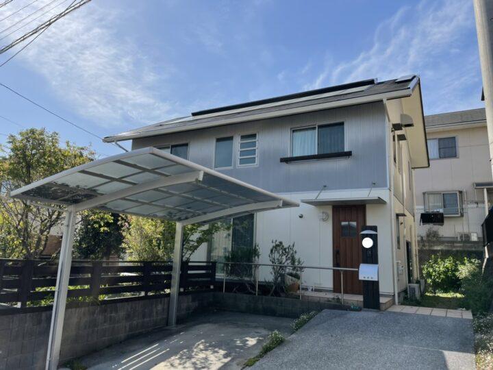北九州市小倉南区 K様邸 屋根・外壁塗装工事
