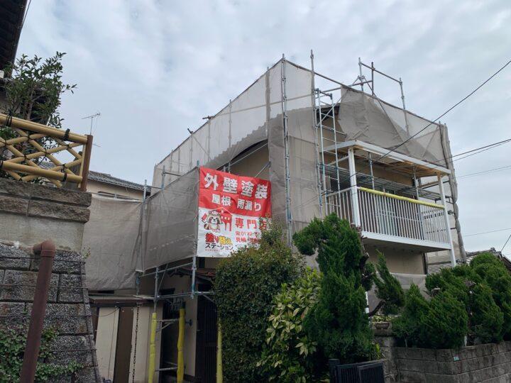 北九州市 小倉南区 K様邸 外壁塗装工事