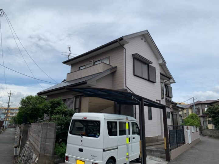 北九州市 小倉南区 K様邸 屋根・外壁塗装工事