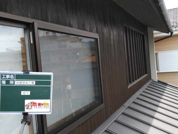 木部塗装2階 完了