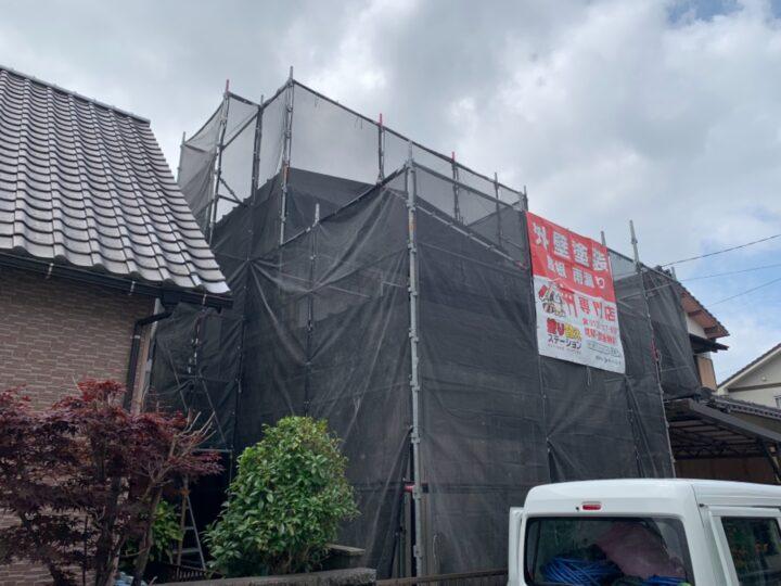 行橋市M様邸 屋根・外壁塗装工事