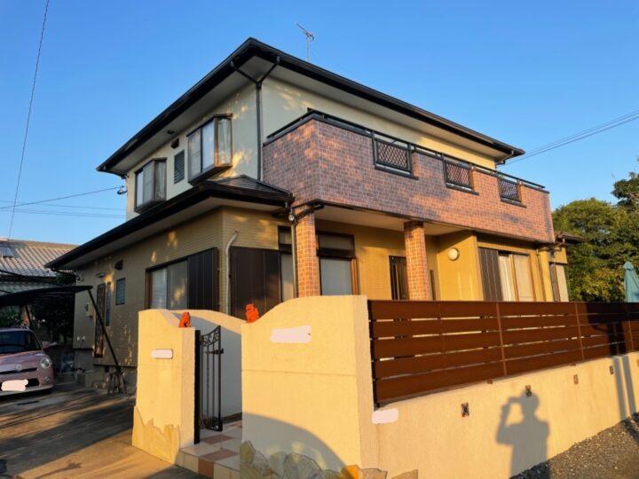 北九州市 小倉南区 屋根・外壁塗装工事  H様邸